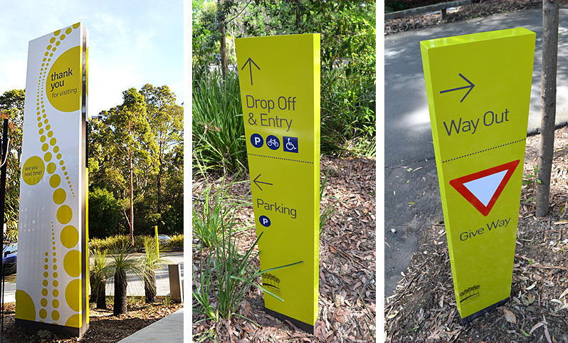 Ku-Ring-Gai Fitness & Aquatic Centre Signage Design