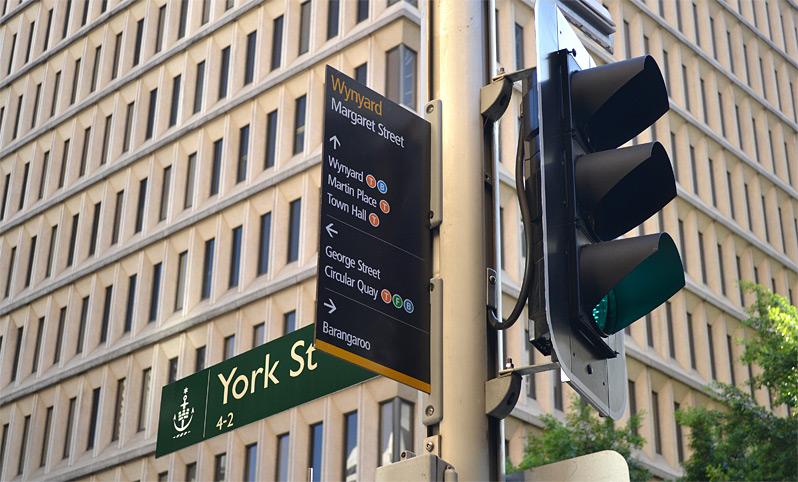 Legible Sydney Urban Wayfinding Signage