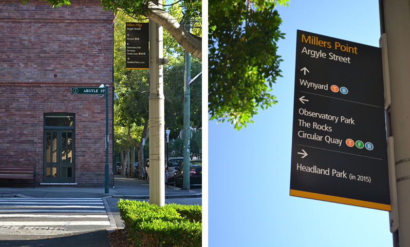 Legible Sydney Urban Wayfinding Signage System Sydney Australia