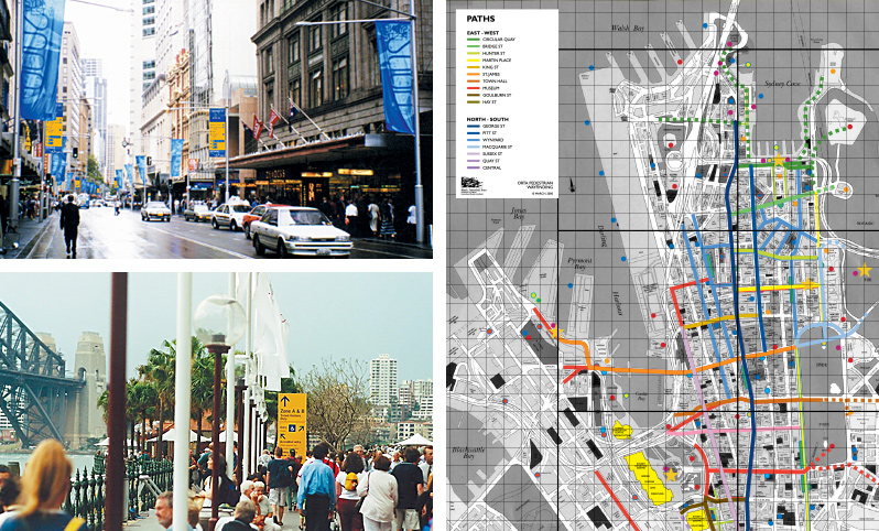 Olympic Games 2000, City Of Sydney Wayfinding Strategy
