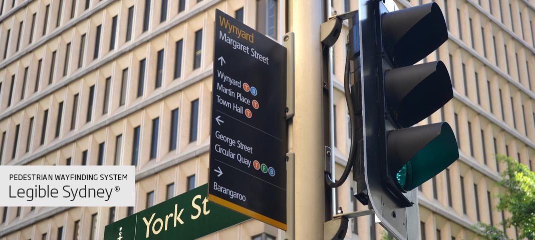 Legible Sydney Pedestrian Wayfinding System